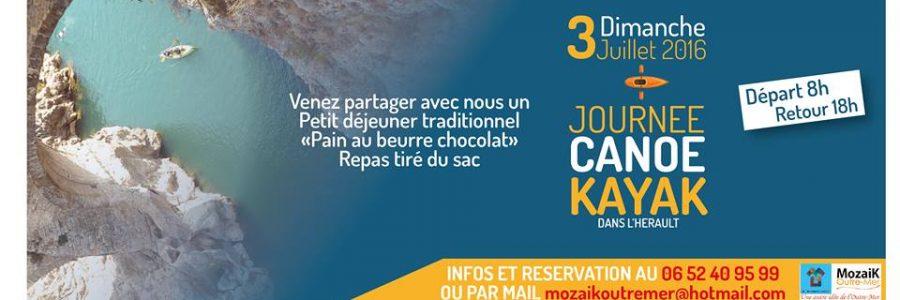 Journée KAYAC «une autre façon de découvrir Montpellier «